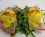 Eggs Benedict on Gypsy Ham