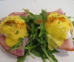 Eggs Benedict on Gypsy Ham